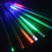 Kerst - LED Meteoorregen Buis - 20 cm - RGB