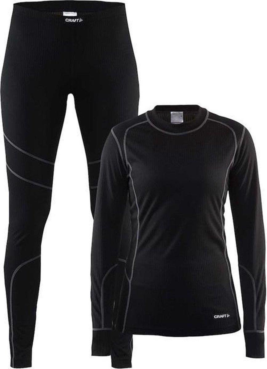 Craft Set prijs 2-pack DA dames thermokleding set zwart