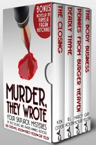 Omslag Murder, They Wrote: Four SkipJack Mysteries