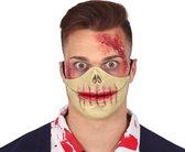 Fiestas Guirca Mondmasker Zombie Latex Beige/rood One-size