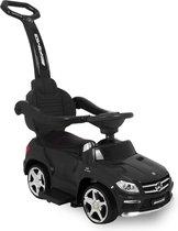 Mercedes GL63 Loopauto - Kinderauto - 1,5 - 4 jaar - Duwstang, Rugleuning en Beschermbeugel - Zwart
