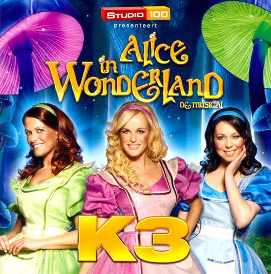 CD cover van Alice In Wonderland van K3