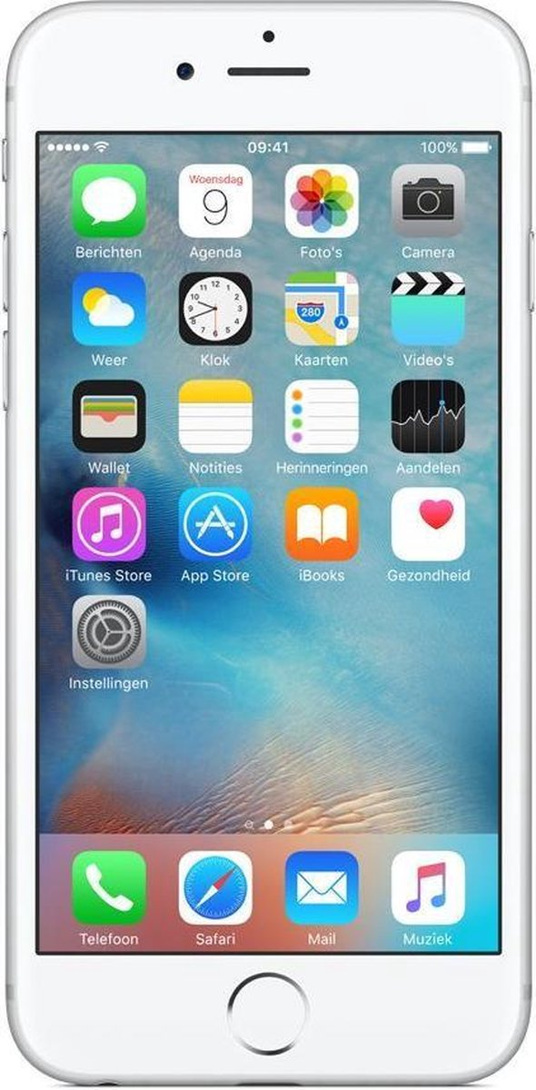 Apple iPhone 6S refurbished door Adognicosto - B Grade (Lichte gebruikssporen) - 128GB - Zilver