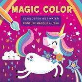 kleurboek Magic Color schilderen met water Eenhoorn