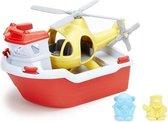 Green Toys - Reddingsboot met Helikopter