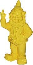Grappige kabouter 30 cm geel | GerichteKeuze