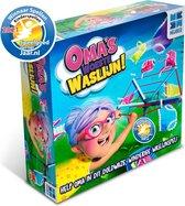 Oma's Woeste Waslijn - Actiespel - Spelletjes voor Kinderen - Met Draaiende Waslijn