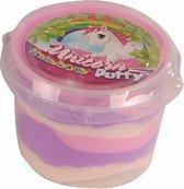 Unicorn Stuiterklei Meisjes 110 Gram Paars/roze