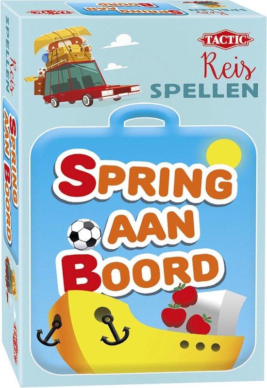 Thumbnail van een extra afbeelding van het spel Spring aan Boord - Reisspel
