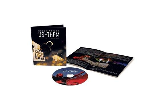 CD cover van US + THEM (Blu-Ray) van Roger Waters