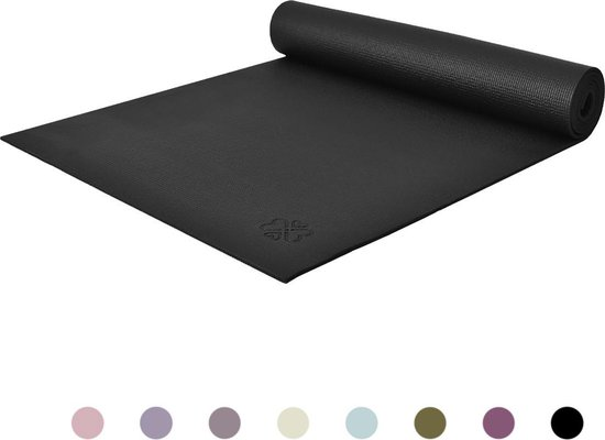 Love Generation Yoga Mat - Zwart - 183 x 61 x 0.6 cm