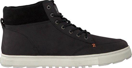 HUB Heren Hoge sneakers Glasgow - Zwart - Maat 45