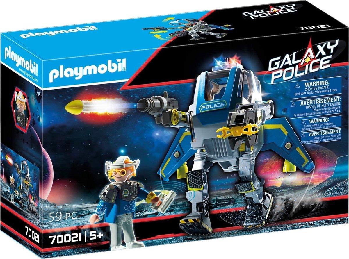PLAYMOBIL Galaxy Police Galaxy politietrobot - 70021