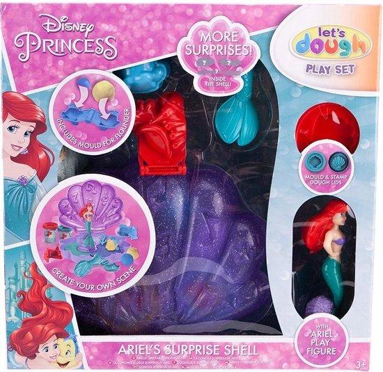 Disney Princess Let's Dough Speelset Ariel's Verrassingsschelp