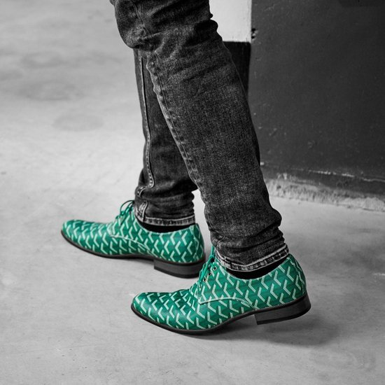 Heren schoenen   3D Green