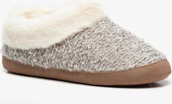 Thu!s dames pantoffels Grijs Maat 39