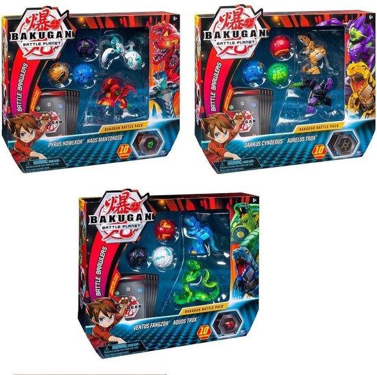 Afbeelding van het spel Spin Master Bakugan Battle Pack Assorti