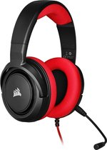 Corsair HS35 Gaming Headset - Rood - PS5 & Switch & Mobiel