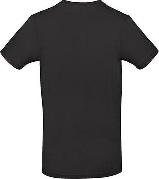 B & C #E190 T-Shirt Black 4XL