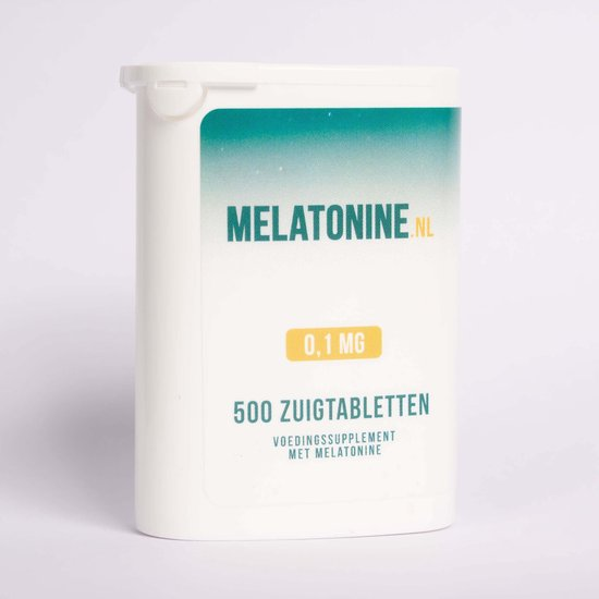 Melatonine 0,1 mg - 500 tabletten