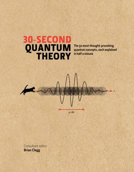 Boek cover 30-Second Quantum Theory van Brian Clegg (Hardcover)