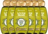 Garnier Loving Blends Shampoo - Mytische Olijf - Gevoelig tot Zeer Droog Haar - 6 x 300 ml - Voordeelverpakking