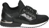 La Strada dames sock sneaker - Zwart - Maat 39
