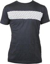 T-shirt zwart Legend Casual wit vlak  XXL