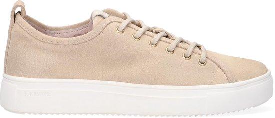 Blackstone Pl97 Lage sneakers – Leren Sneaker – Dames – Beige – Maat 39