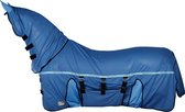 Harry's Horse Vliegendeken  Mesh-pro Belly - Blue - 195 Cm
