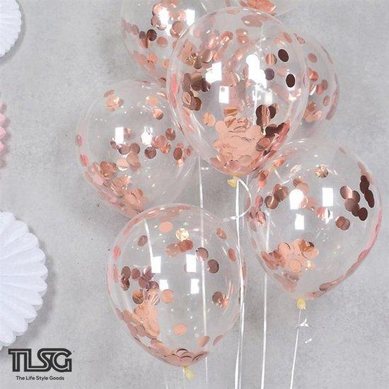 Heliumballonnen Set Rosé Goud - 20 stuks - Bruiloft Decoratie - Trouwen - Bruiloft - Feestartikelen - Biologisch - Latex