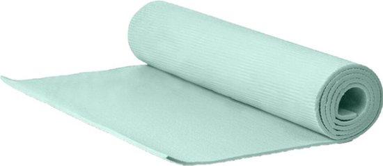 Yogamat/fitness mat groen 183 x 60 x 1 cm - Sportmat/pilatesmat - Thuis sporten