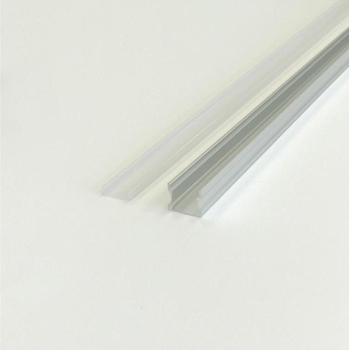 2m aluminium profiel voor ondoorzichtige LED-strip