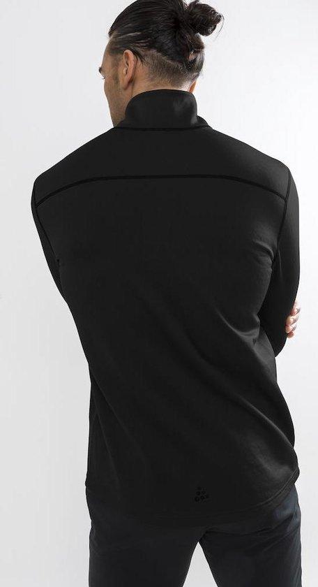 Craft Pin Halfzip Wintersportpully Heren - Black - Craft