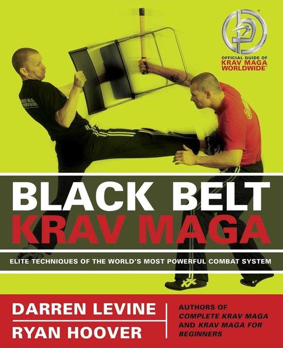 Boek cover Black Belt Krav Maga van Darren Levine