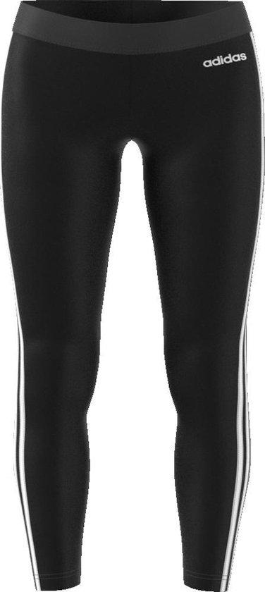 adidas W Essentials 3S Tight Dames Sportlegging BlackWhite Maat M