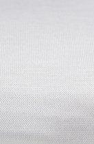 Matrasbeschermer en hoeslaken 2 in 1 voor wieg- of kinderwagen Wit 40x90 cm