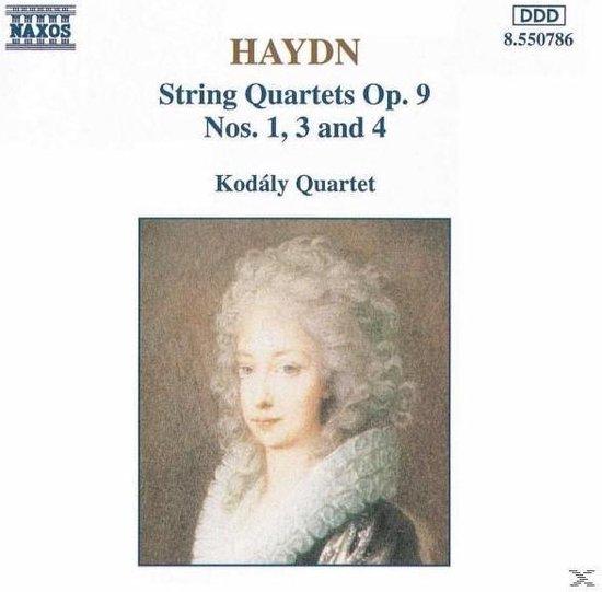 Haydn: String Quartets Op 9, no 1, 3 & 4 / Kodaly Quartet