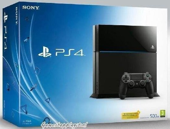 Sony PlayStation 4 Console - 500GB - Zwart