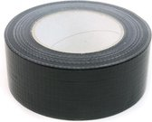 Ducktape zwart - Duck Tape - Ducttape - Duct Tape - 50mm x 50m - per rol
