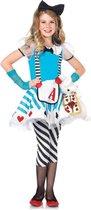 Alice In Wonderland Deluxe Meisjes KostuumLeg Avenue