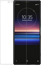 Azuri screenprotector Tempered Glass curved RINOX ARMOR - Voor Sony Xperia 1 - Transparant