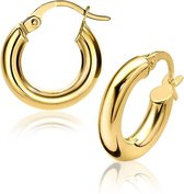 Zinzi Jewels 14 Karaat Gouden Oorbellen  - Goud