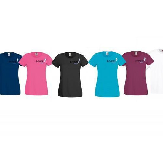 Fruit of the Loom Dames T-shirt M