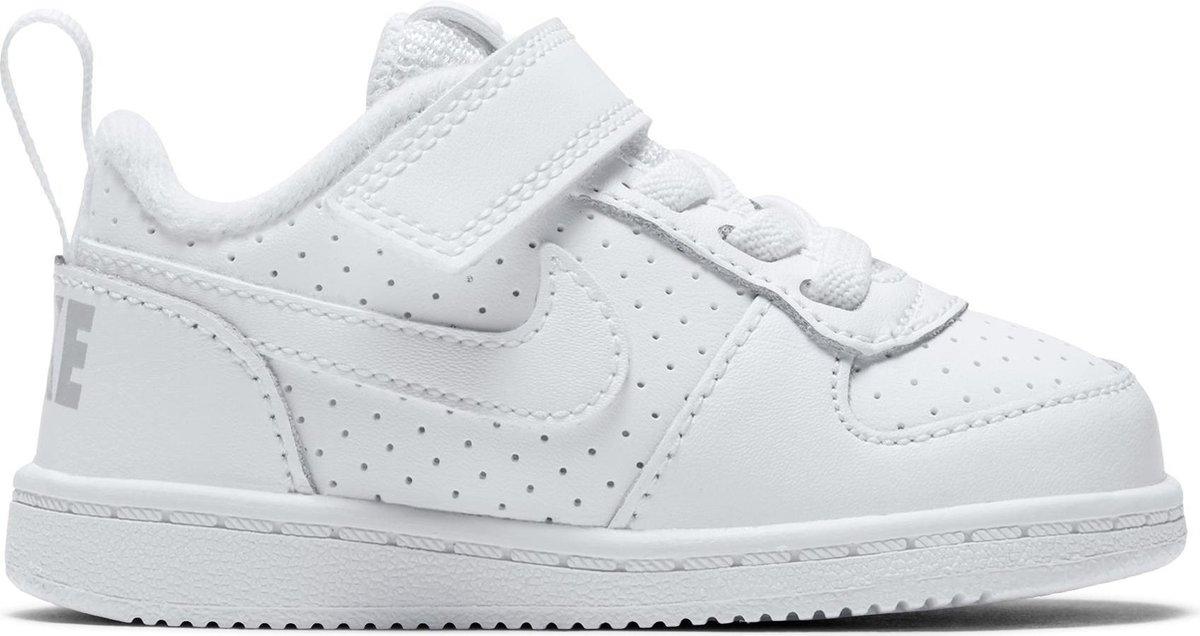 Nike Court Borough Low Btv Jongens Sneakers WhiteWhite Maat 27