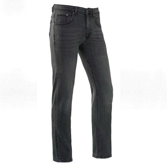 Brams Paris - Heren Jeans Stretch Lengte 34 Jason Dark Grey