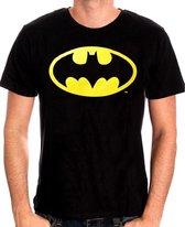 DC Comics Batman Classic Logo Black TShirt S