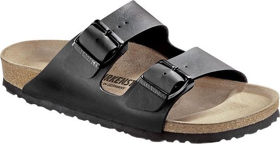 Birkenstock Arizona Heren Slippers - Black - Maat 45