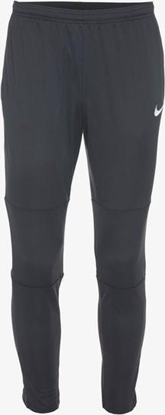 Nike M Nk Dry Park18 Pant Kpz Trainingsbroek Heren - Black/Black/White - Nike