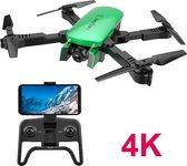 Professionele Smart Drone met camera – 4K Full HD Dual Camera – Foto – Video – mini drone - Inklapbare Drone - 180 verstelbare camera - inc Opbergtas - 1600w video kwaliteit - extra accu - 30 min vliegtijd